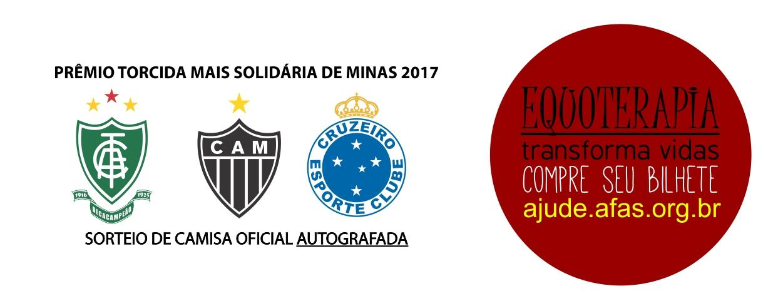 Prêmio torcida mais solidária de Minas 2017